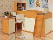Детские кровати одно,  двухярусные на заказ Киев купить