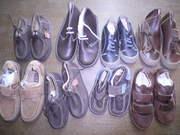 Стоковая обувь детская. Бренд Ваtа Аndrе 100% кожа. 24 евро/кг.