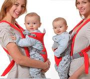 Рюкзак кенгуру для деток,  рюкзачок с ортопедической спинкой для детей,