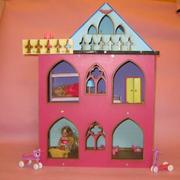 Разборной кукольный домик в стиле Монстр Хай.