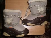 Продам ботинки зимние Demar (дев/мал) 14, 5 см 24-25 р.