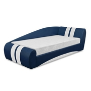Детская кровать Драйв-90 синяя